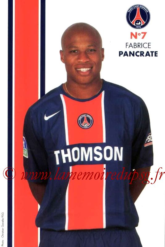 PANCRATE Fabrice  05-06
