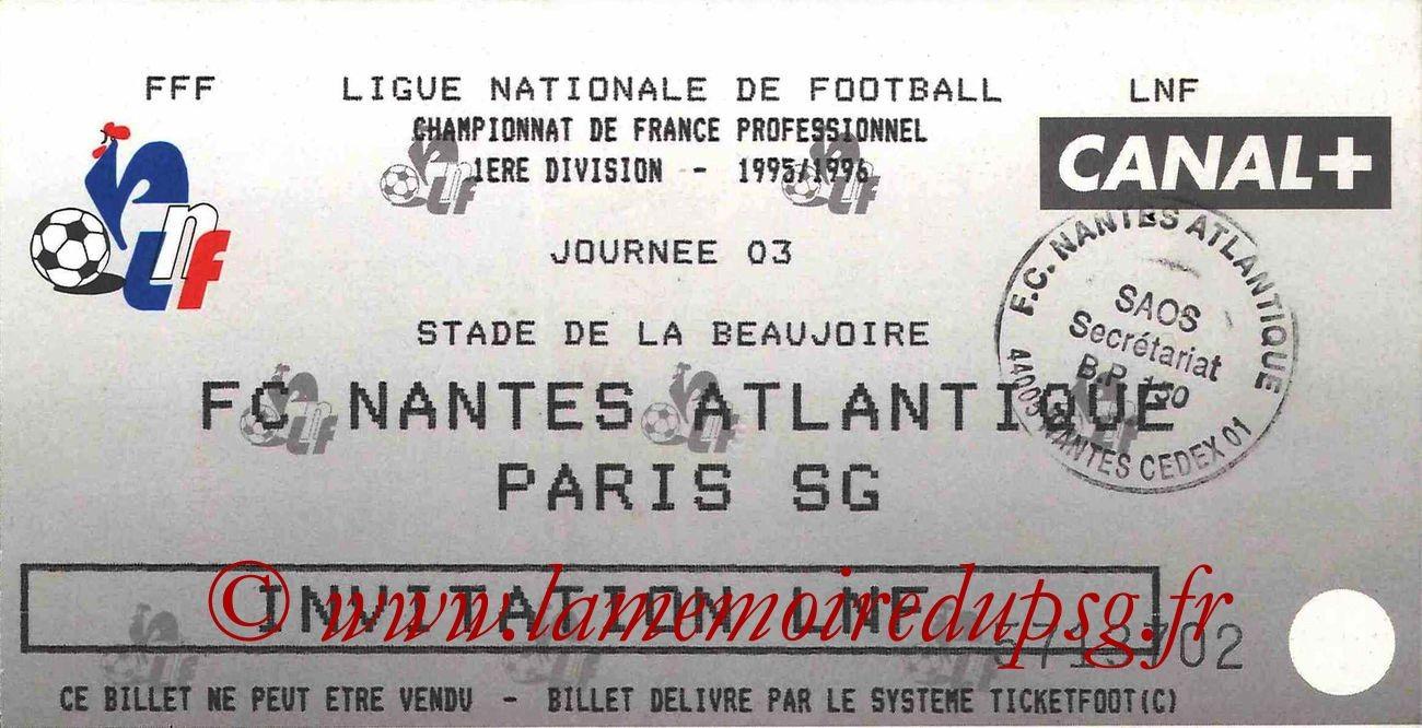 1995-08-04  Nantes-PSG (3ème D1)