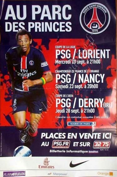 2006-09  Affiche PSG