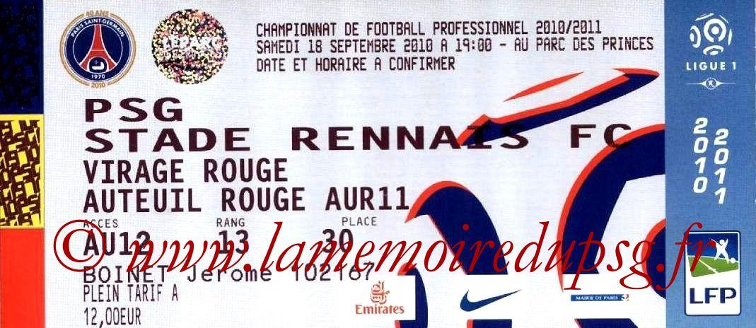 2010-09-19  PSG-Rennes (6ème L1)