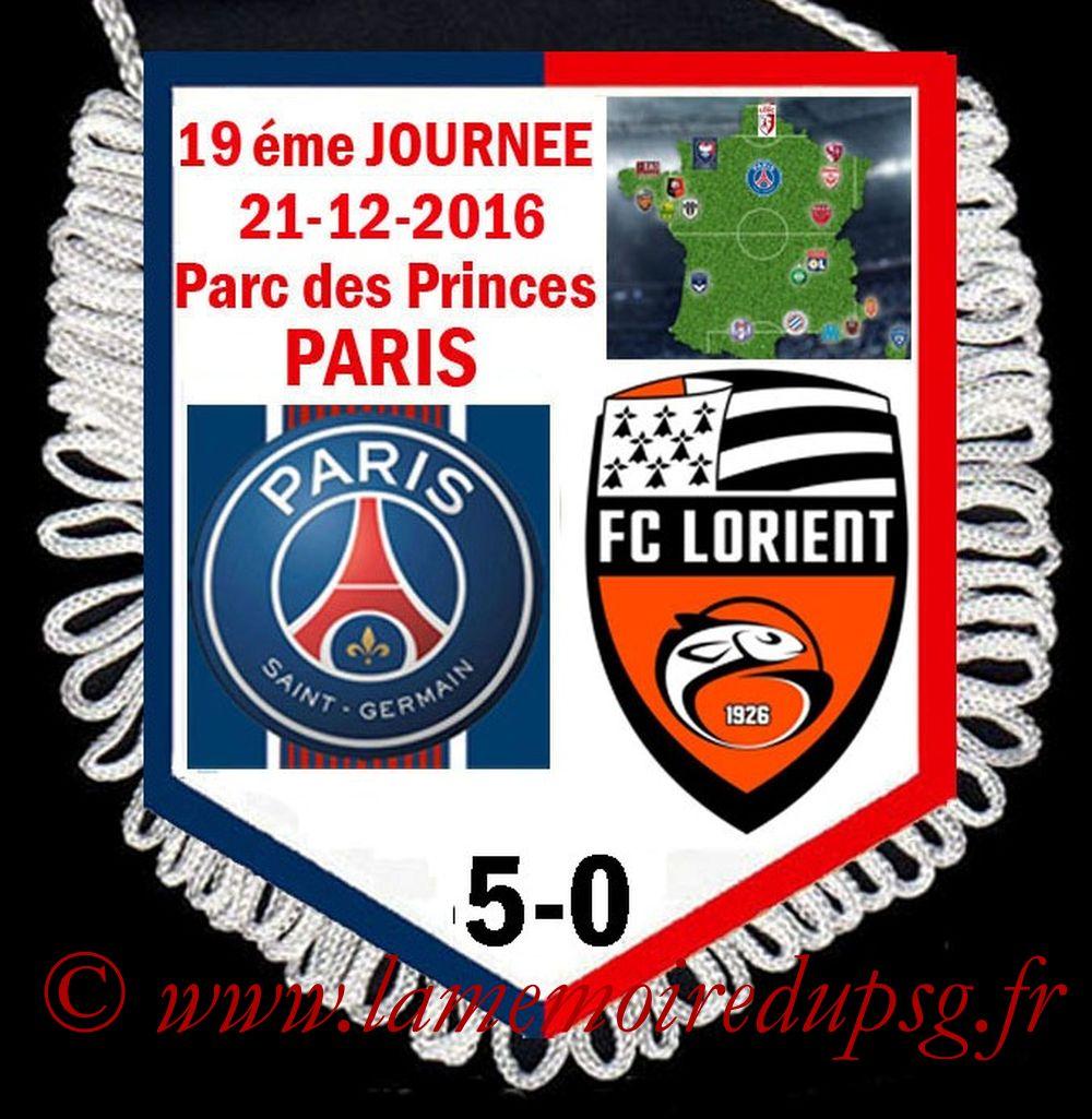 2016-12-21  PSG-Lorient (19ème L1)