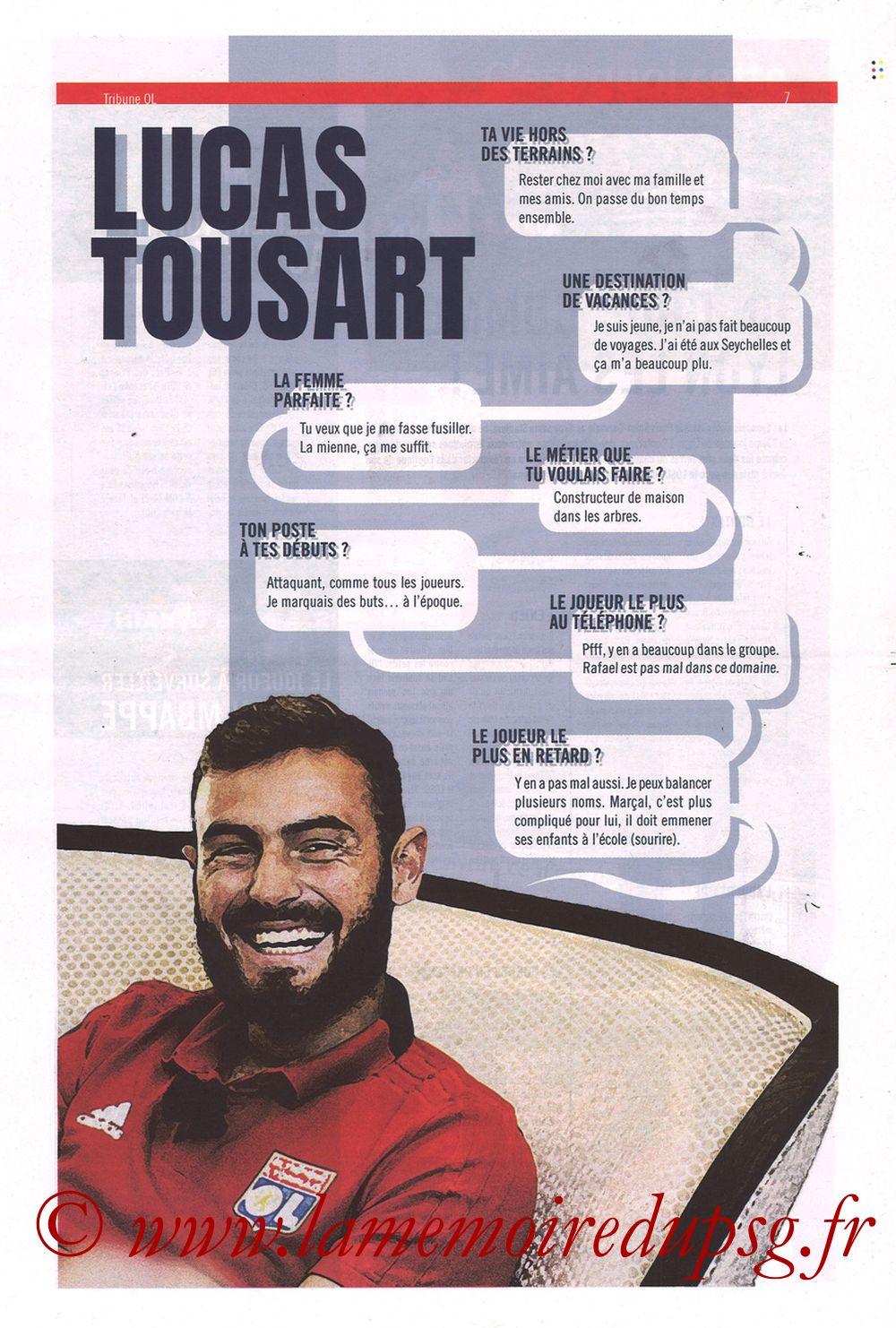 2019-02-03  Lyon-PSG (23ème L1, La Tribune OL N°270) - Page 07