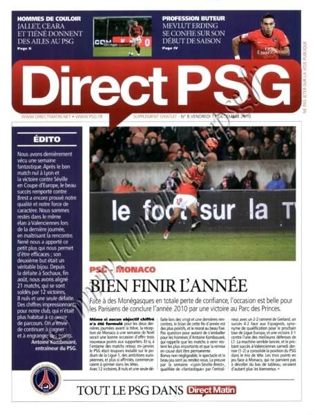 2010-12-18  PSG-Monaco (18ème L1, Direct PSG N°8)