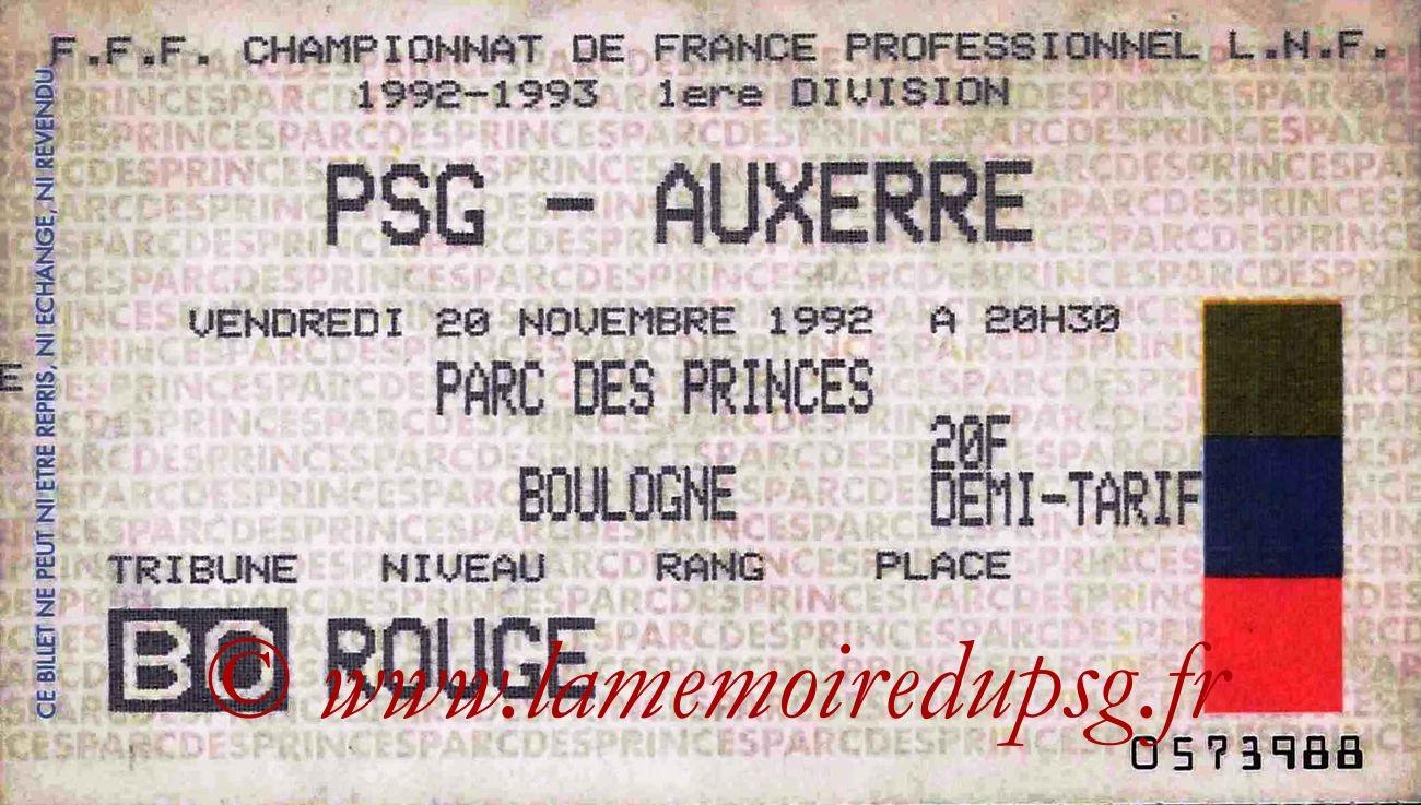 1992-11-20  PSG-Auxerre (15ème D1)
