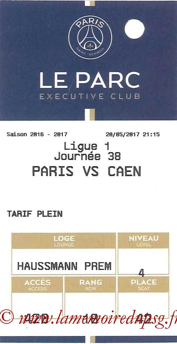2017-05-20  PSG-Caen (38ème L1, E-ticket Executive Club)
