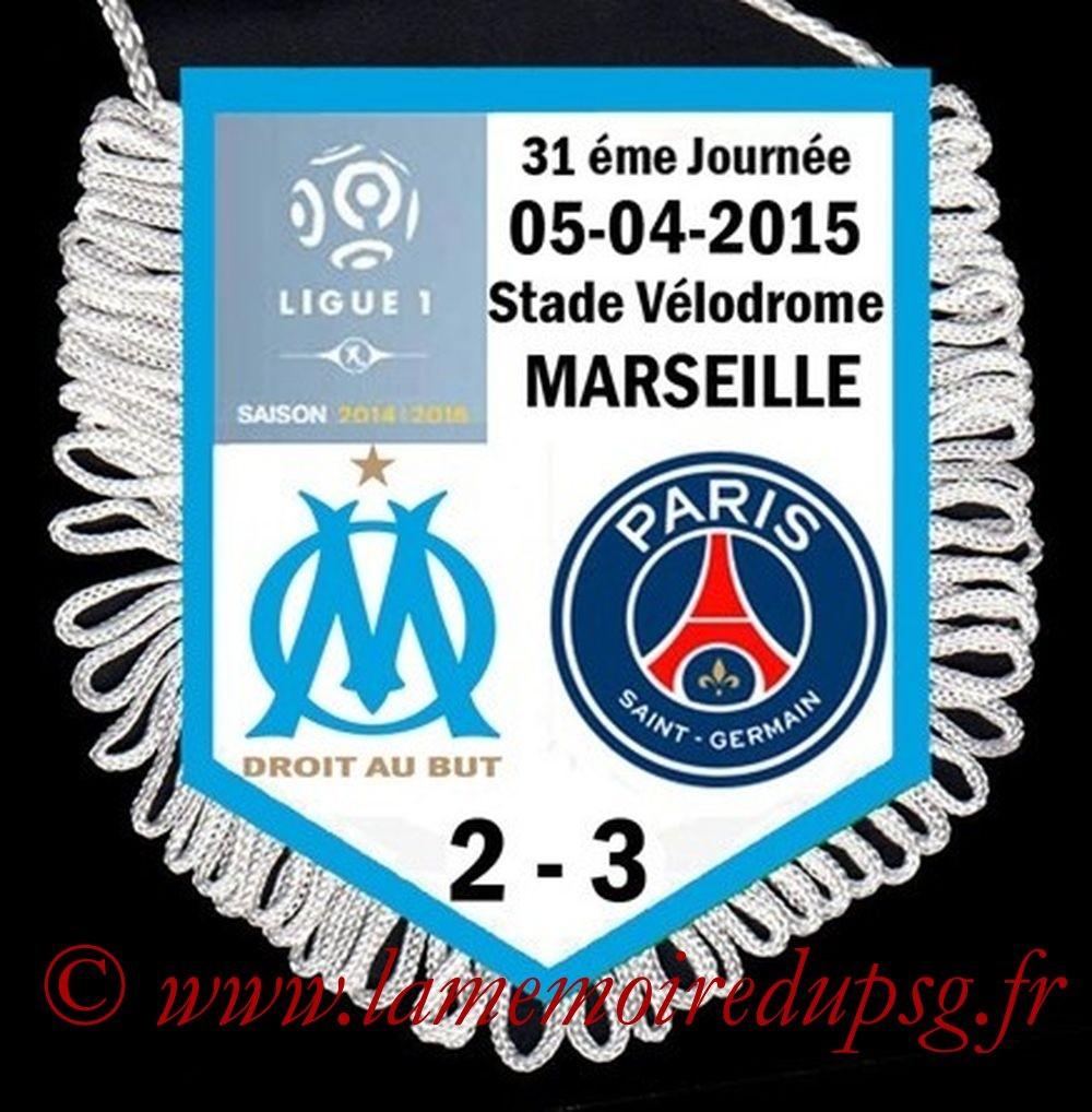 2015-04-05  Marseille-PSG (31ème L)