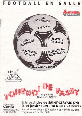 1989-01-14  Tournoi en salle de Passy à Saint-Gervais