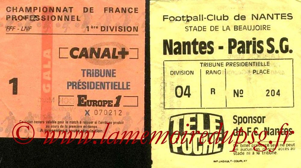 1986-03-14  Nantes-PSG (33ème D1)