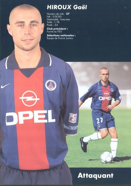 2000-01 - HIROUX Gaël