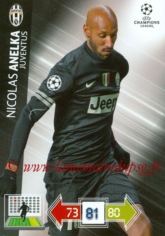N° U049 - Nicolas ANELKA (1995-97 et 2000-02, PSG > jan 2013, Juventus Turin, ITA)