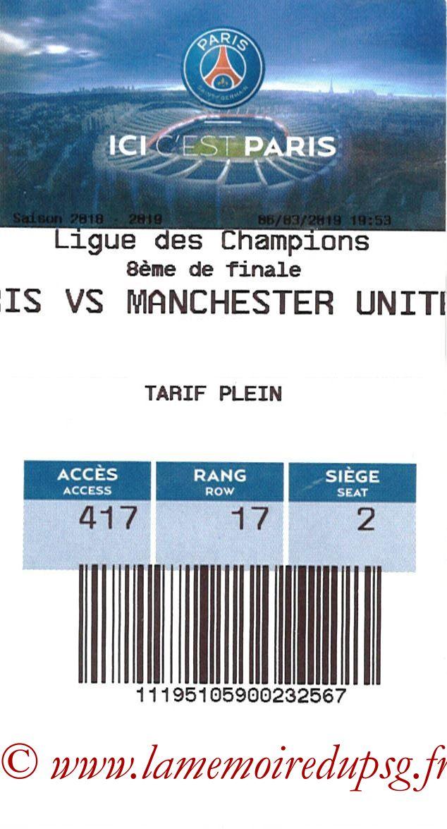 2019-03-06  PSG-Manchester United (8ème C1 retour, E-ticket)