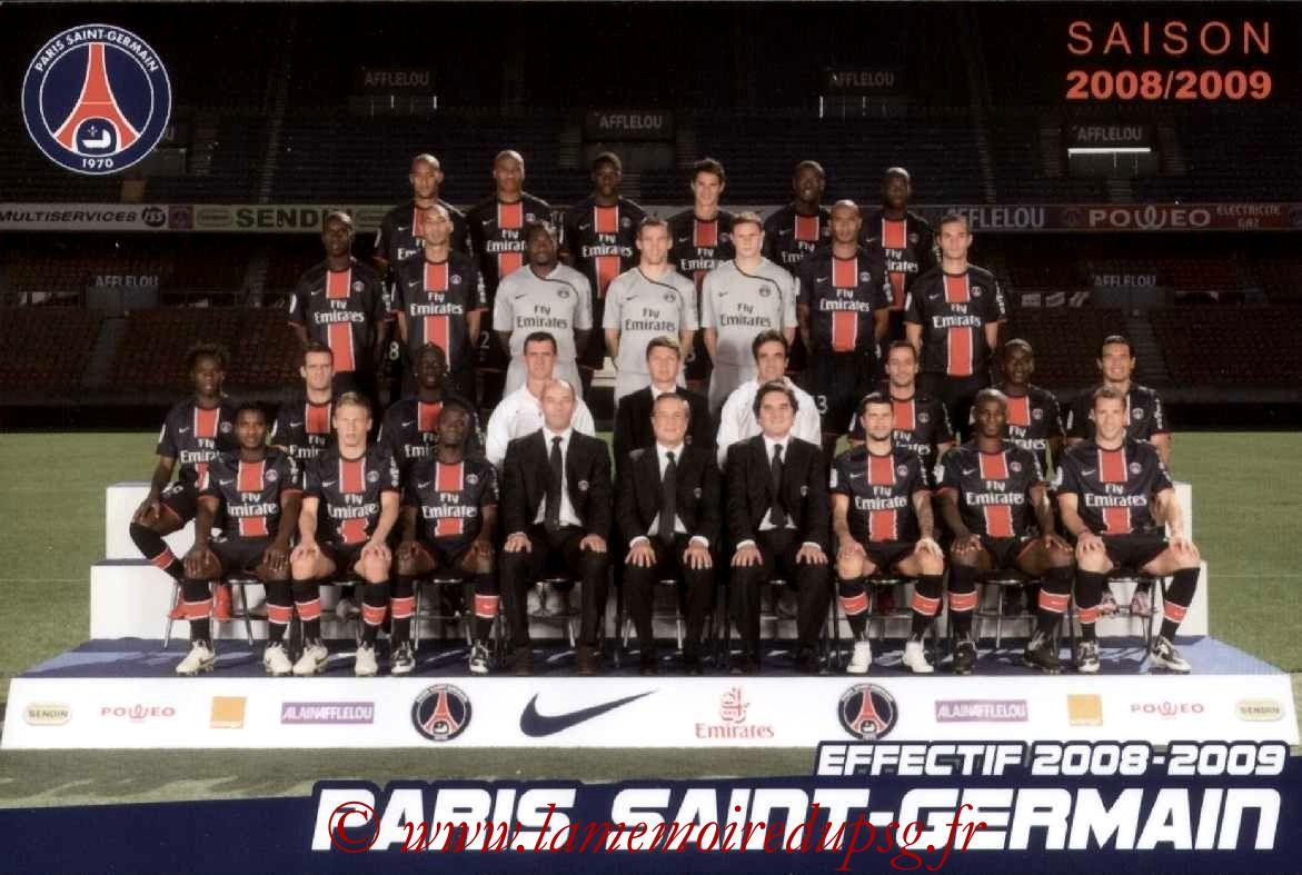Equipe PSG  08-09