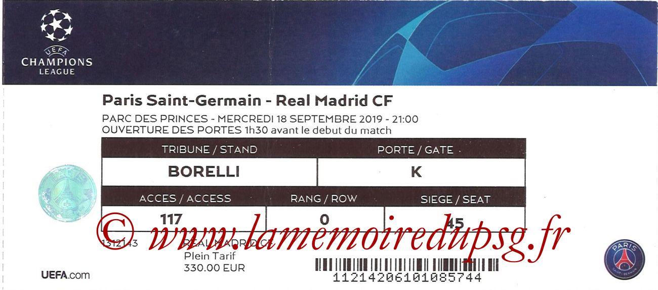 2019-09-18  PSG-Real Madrid (1ère C1)