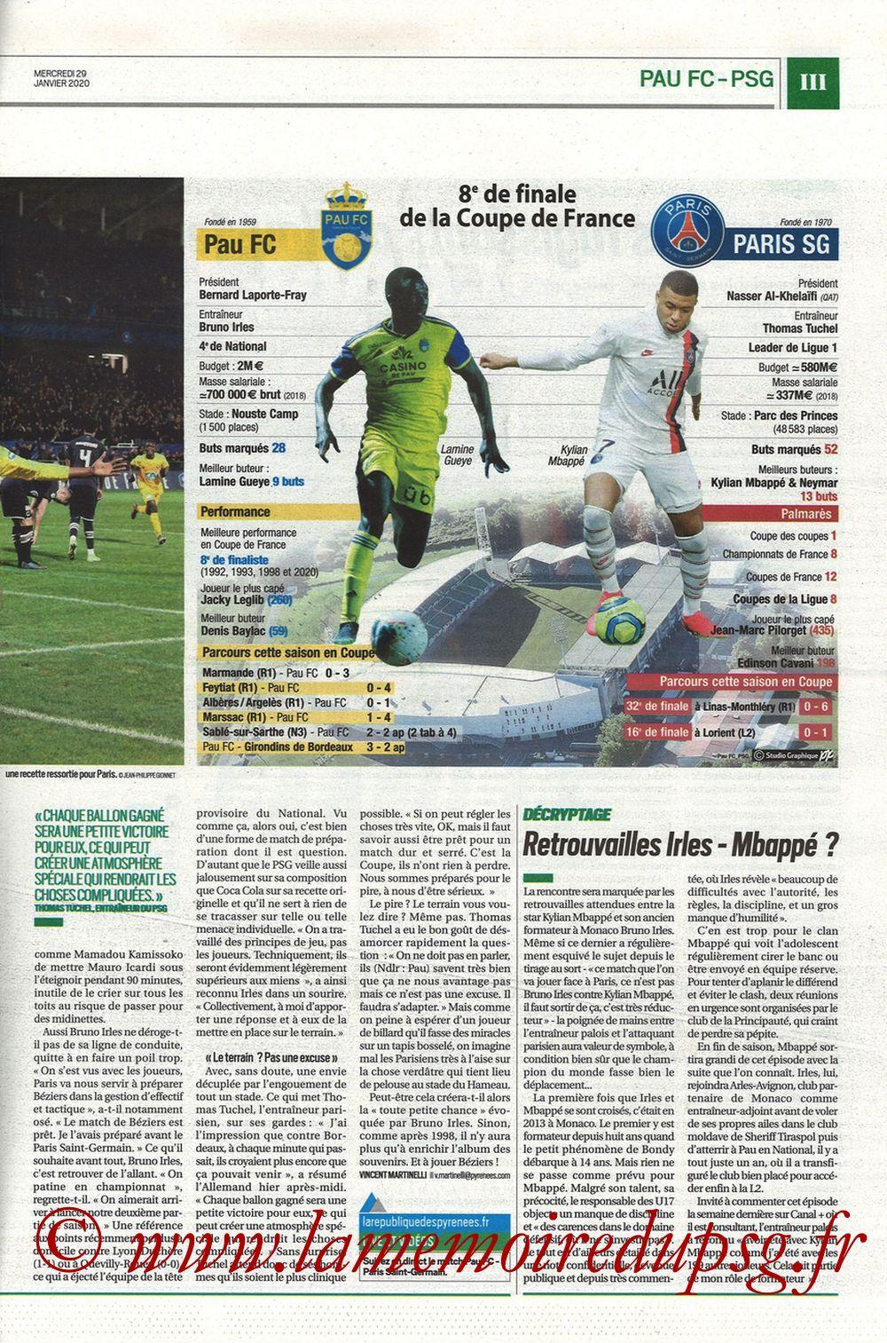 2020-01-29  Pau-PSG (8ème CF, Pyrenees Sports) - Page 03