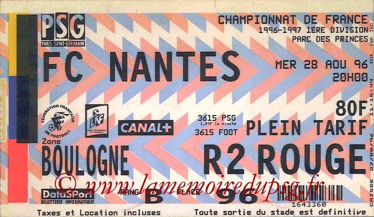 1996-08-28  PSG-Nantes (4ème D1)bis