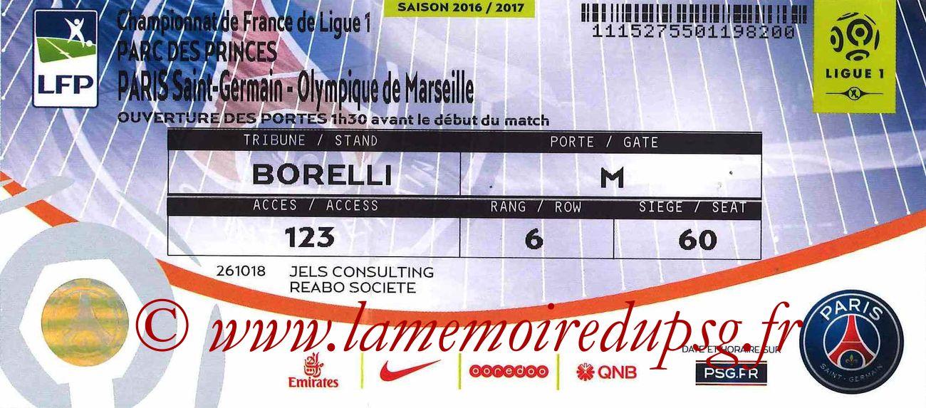 2016-10-23  PSG-Marseille (10ème L1)bis
