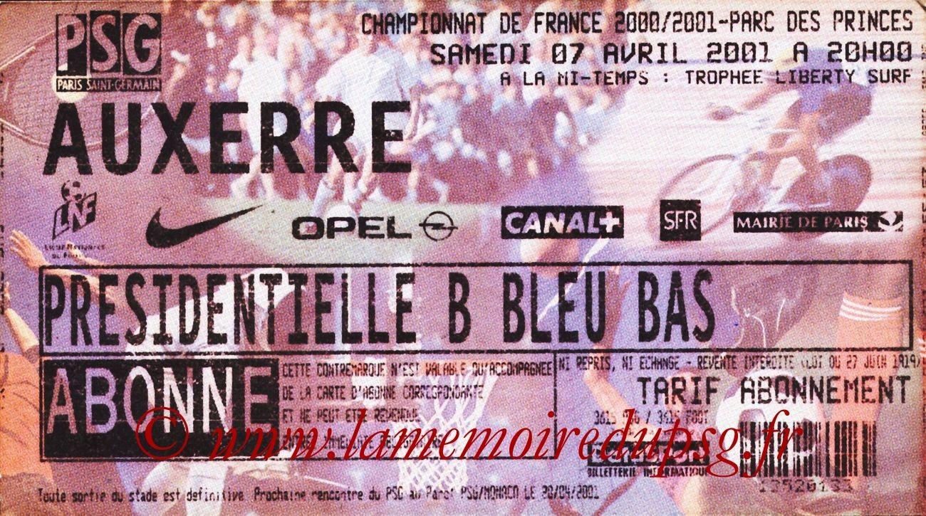 2001-04-07  PSG-Auxerre (30ème D1)
