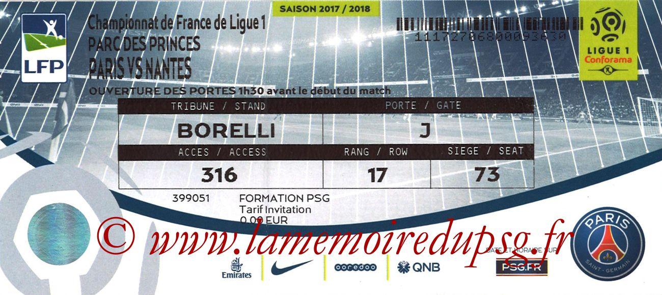 2017-11-18  PSG-Nantes (13ème L1)