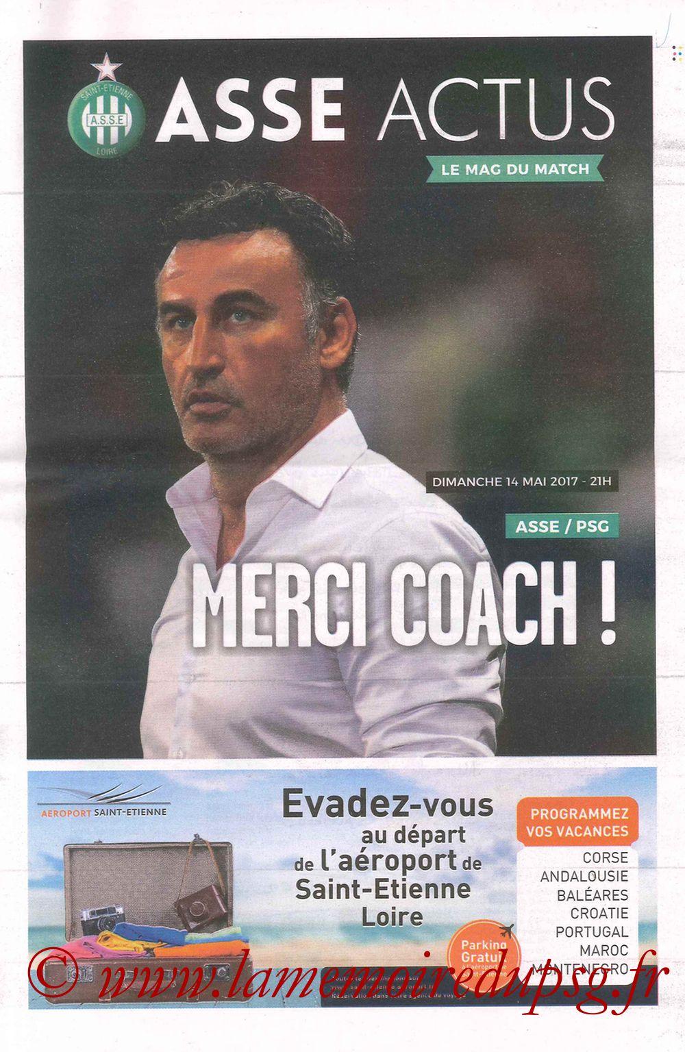 2017-05-14  Saint Etienne-PSG (37ème L1, ASSE Actus)