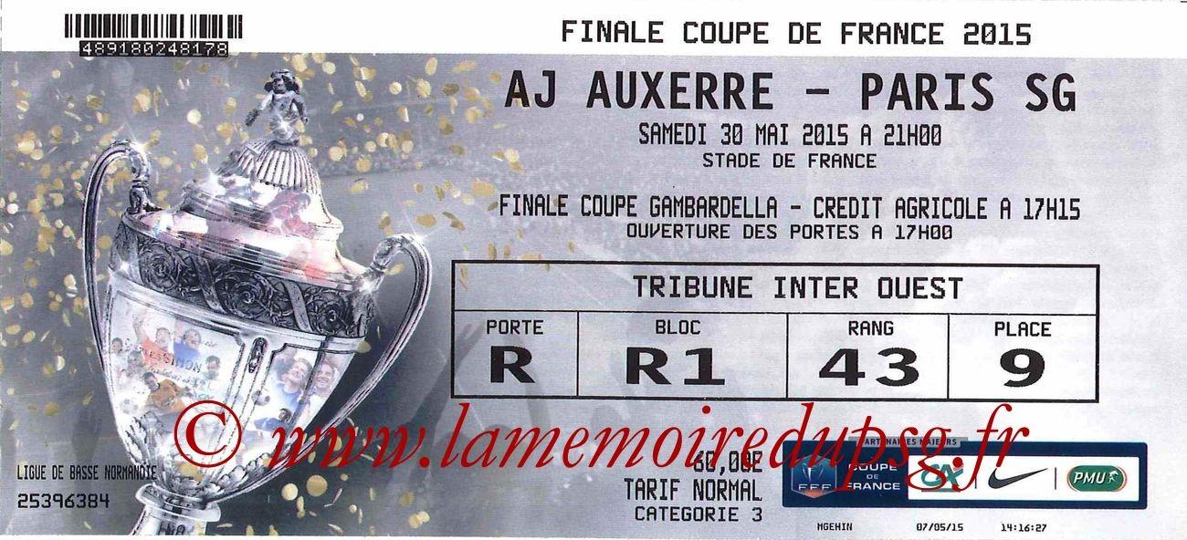 2015-05-30  Auxerre-PSG (Finale CF à Saint-Denis)