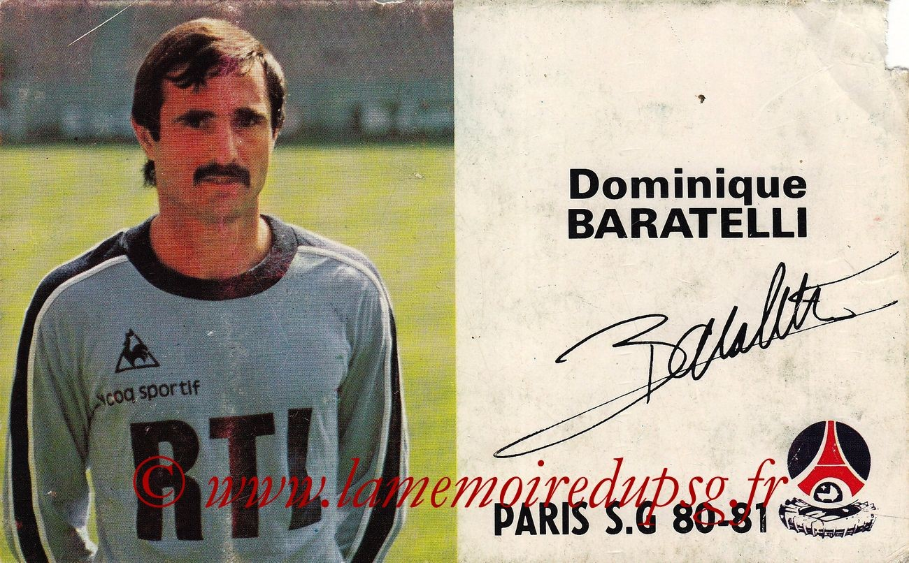 BARATELLI Dominique  80-81