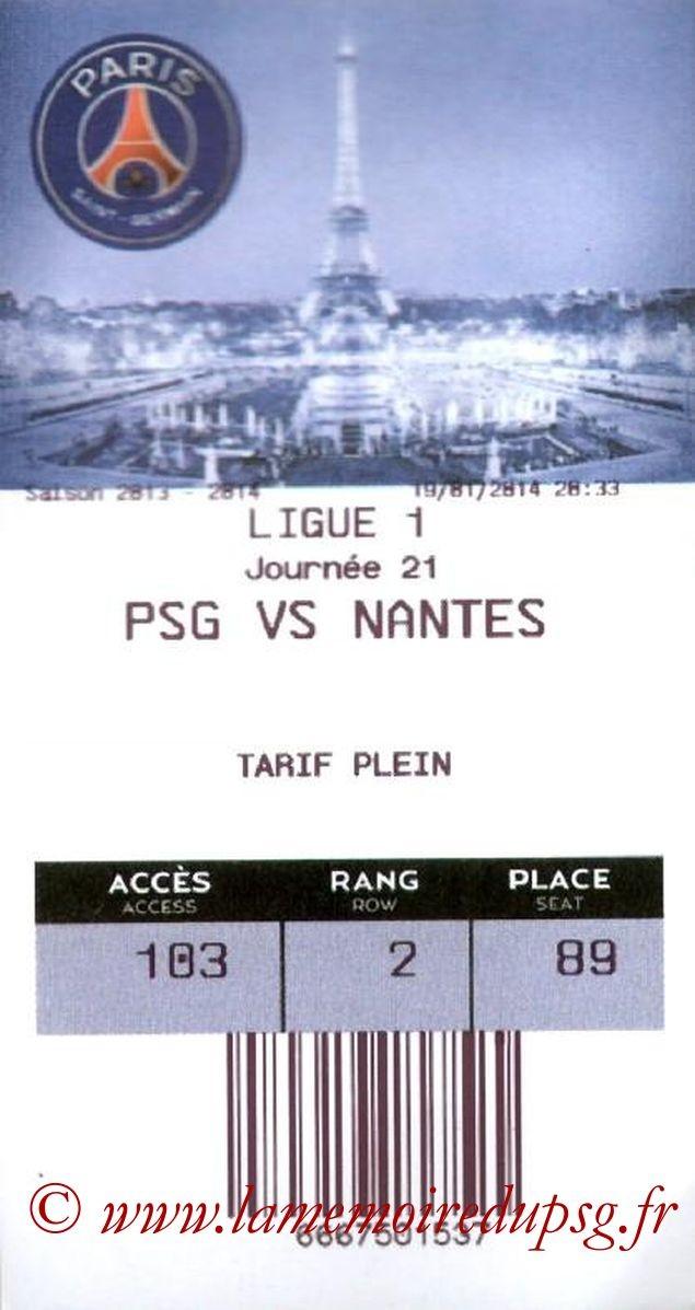 2014-01-19  PSG-Nantes (21ème L1, E-ticket)
