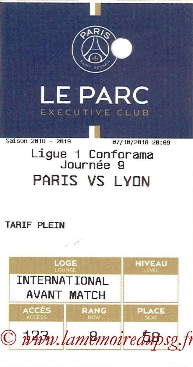 2018-10-07  PSG-Lyon (9ème L1, E-Ticket Executive club)