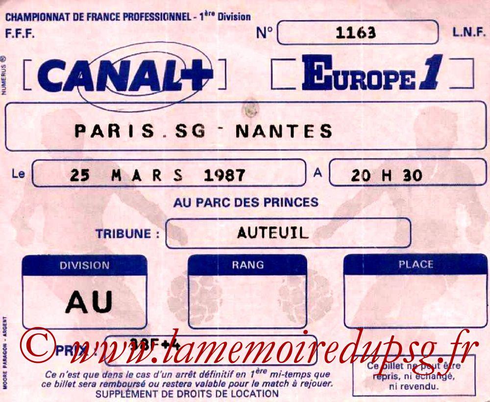 1987-03-25  PSG-Nantes (28ème D1)