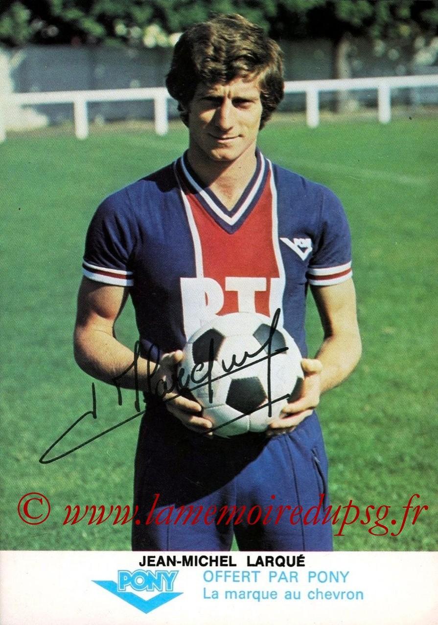 LARQUE Jean-Michel  77-78