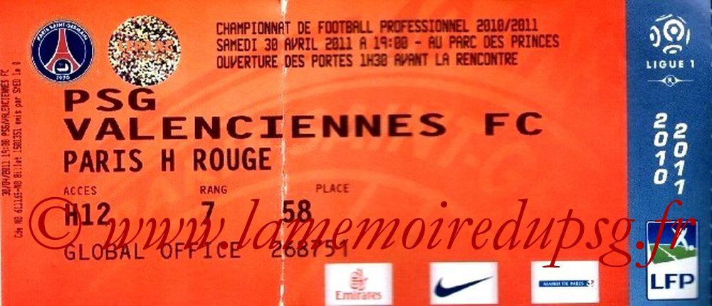 2011-04-30  PSG-Valenciennes (33ème L1)bis