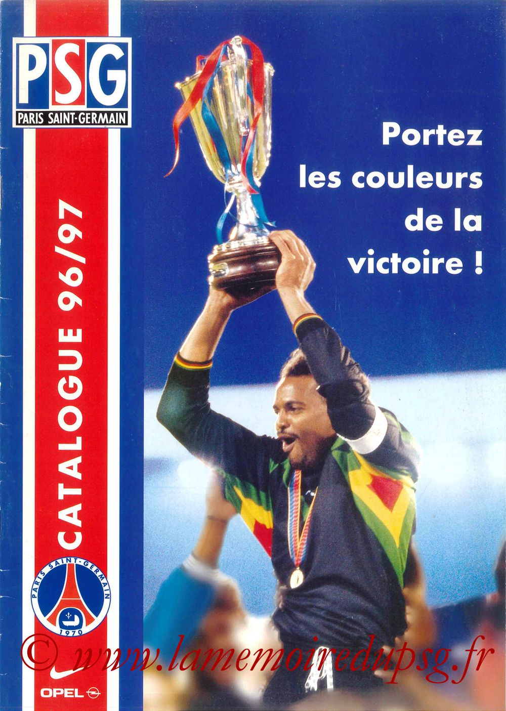 Catalogue PSG - 1996-97