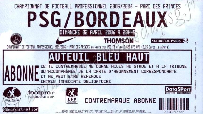 2006-04-02  PSG-Bordeaux (33ème L1)