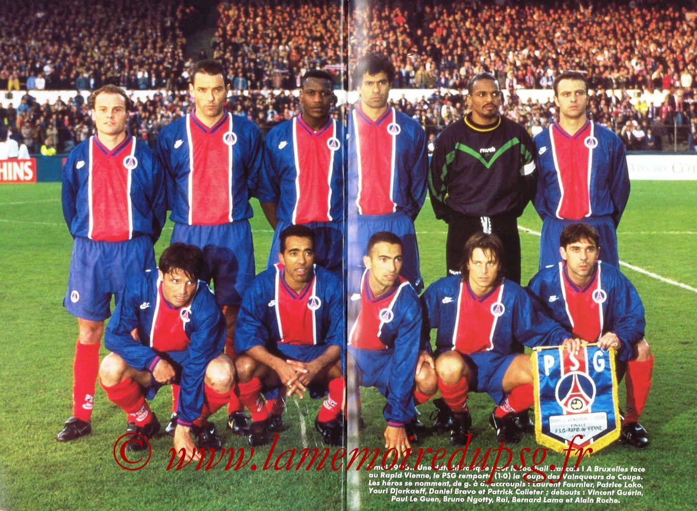 1999-00 - Guide de la Saison PSG - Pages 04 et 05