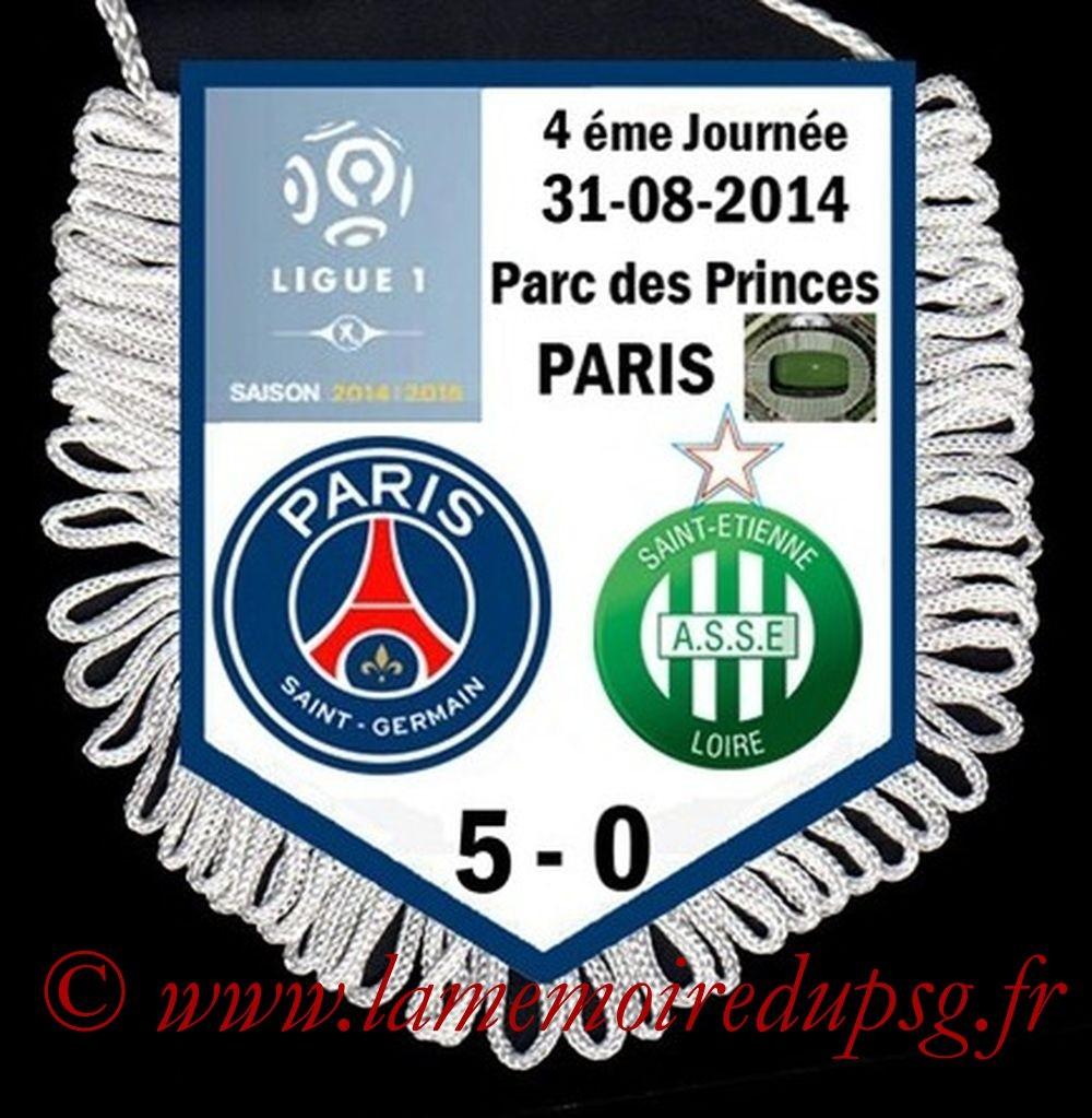 2014-08-31  PSG-Saint Etienne (4ème L1)
