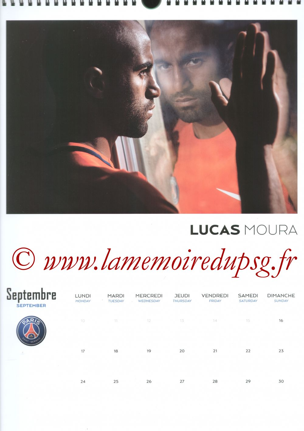 Calendrier PSG 2018 - Page 18 - LUCAS Moura