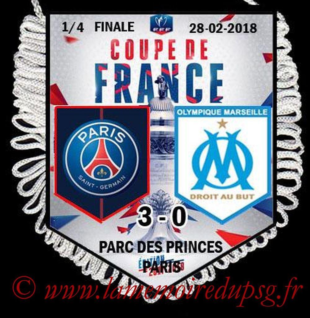 2018-02-28  PSG-Marseille (Quart CF)