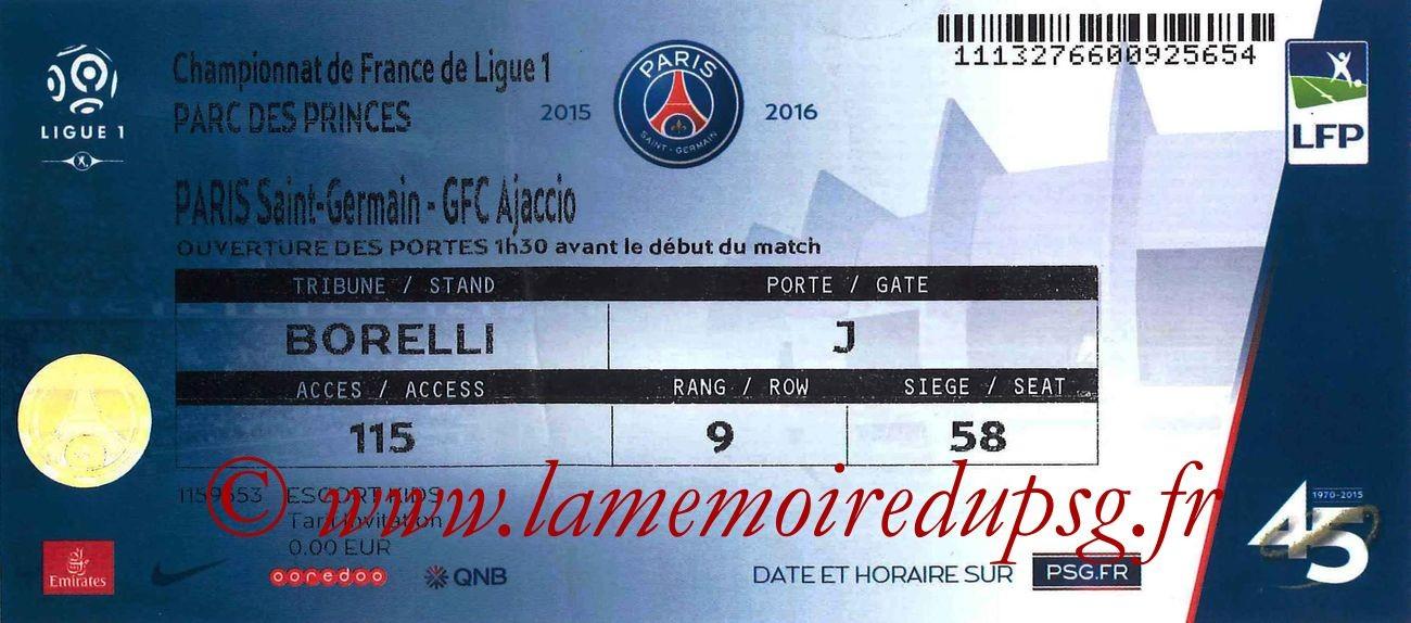 2015-08-16  PSG-Gazelec Ajaccio (2ème L1, bis)