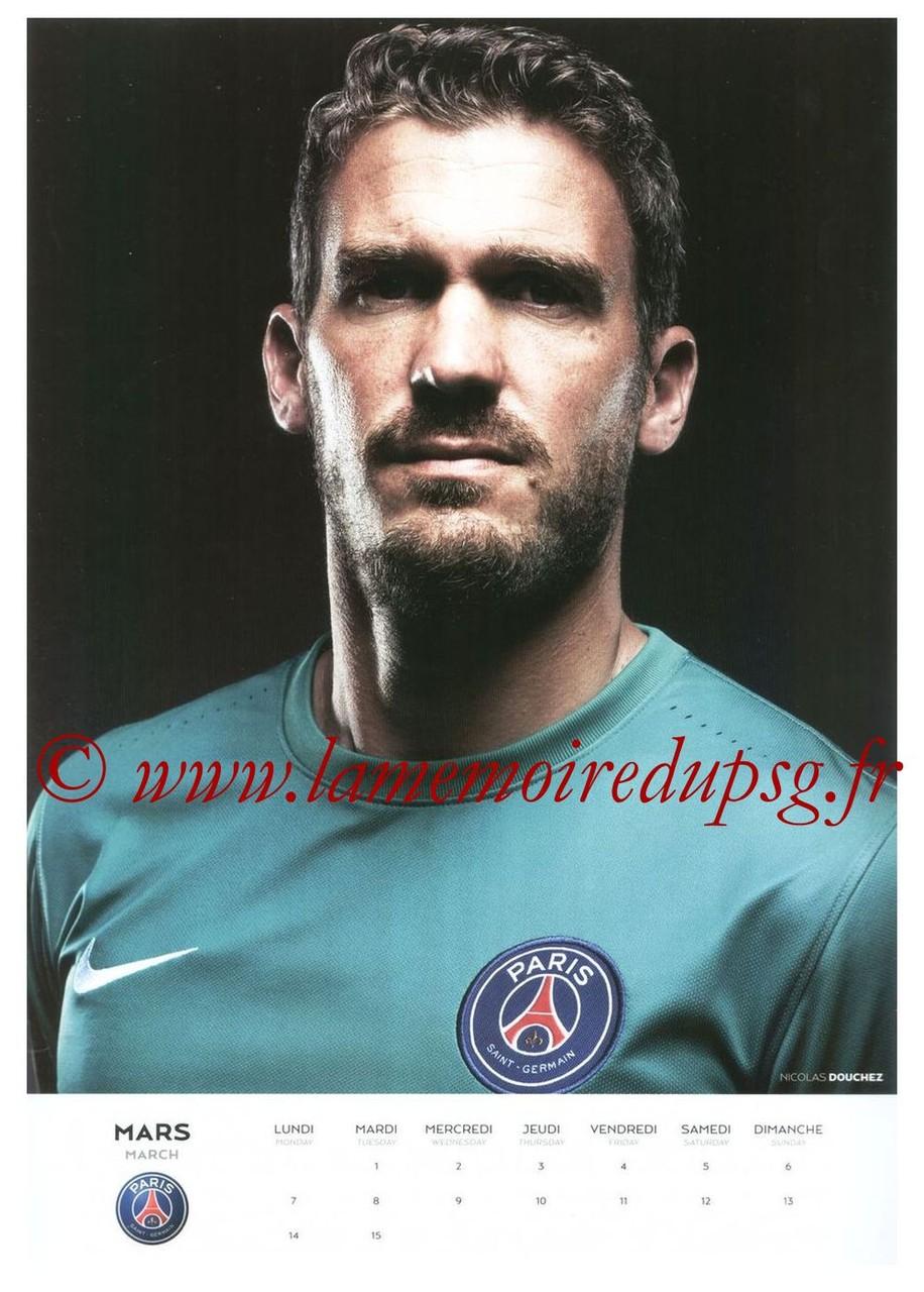 Calendrier PSG 2016 - Page 05 - Nicolas DOUCHEZ