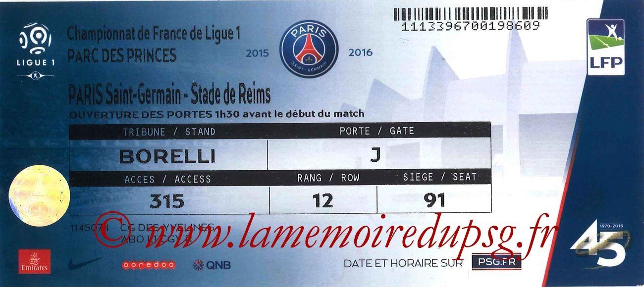 2016-02-20  PSG-Reims (27ème L1)