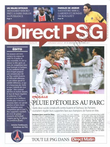 2011-12-18  PSG-Lille (18ème L1, Direct PSG N°25)
