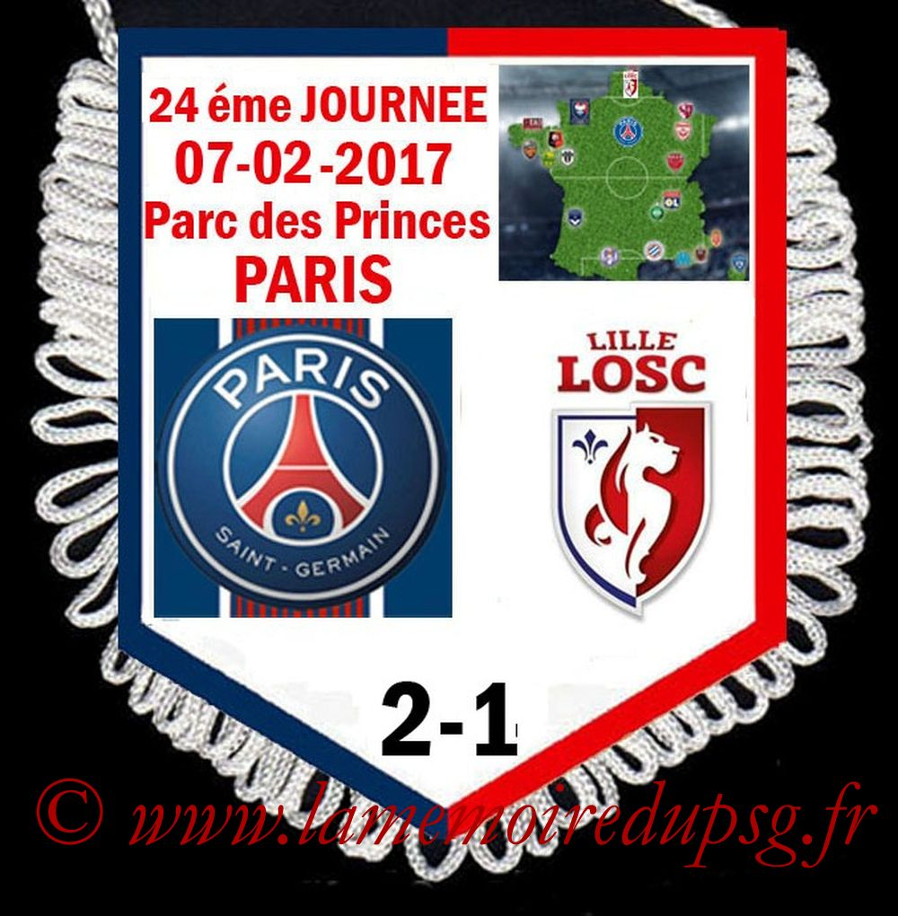 2017-02-07  PSG-Lille (24ème L1)
