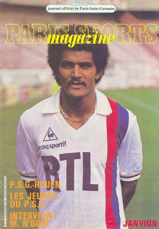 1983-11-22  PSG-Rouen (19ème D1, Paris Sports Magazine N°25)