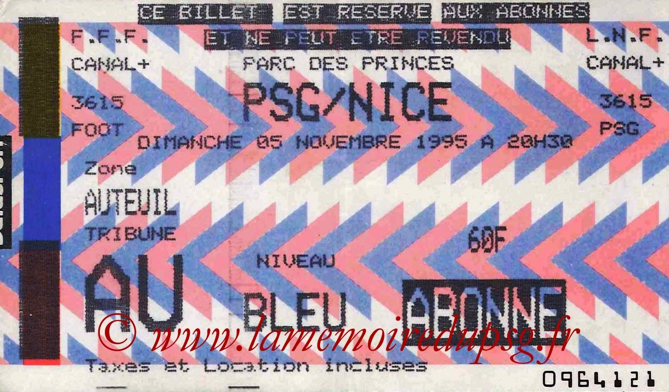 1995-11-05  PSG-Nice (16ème D1, bis)