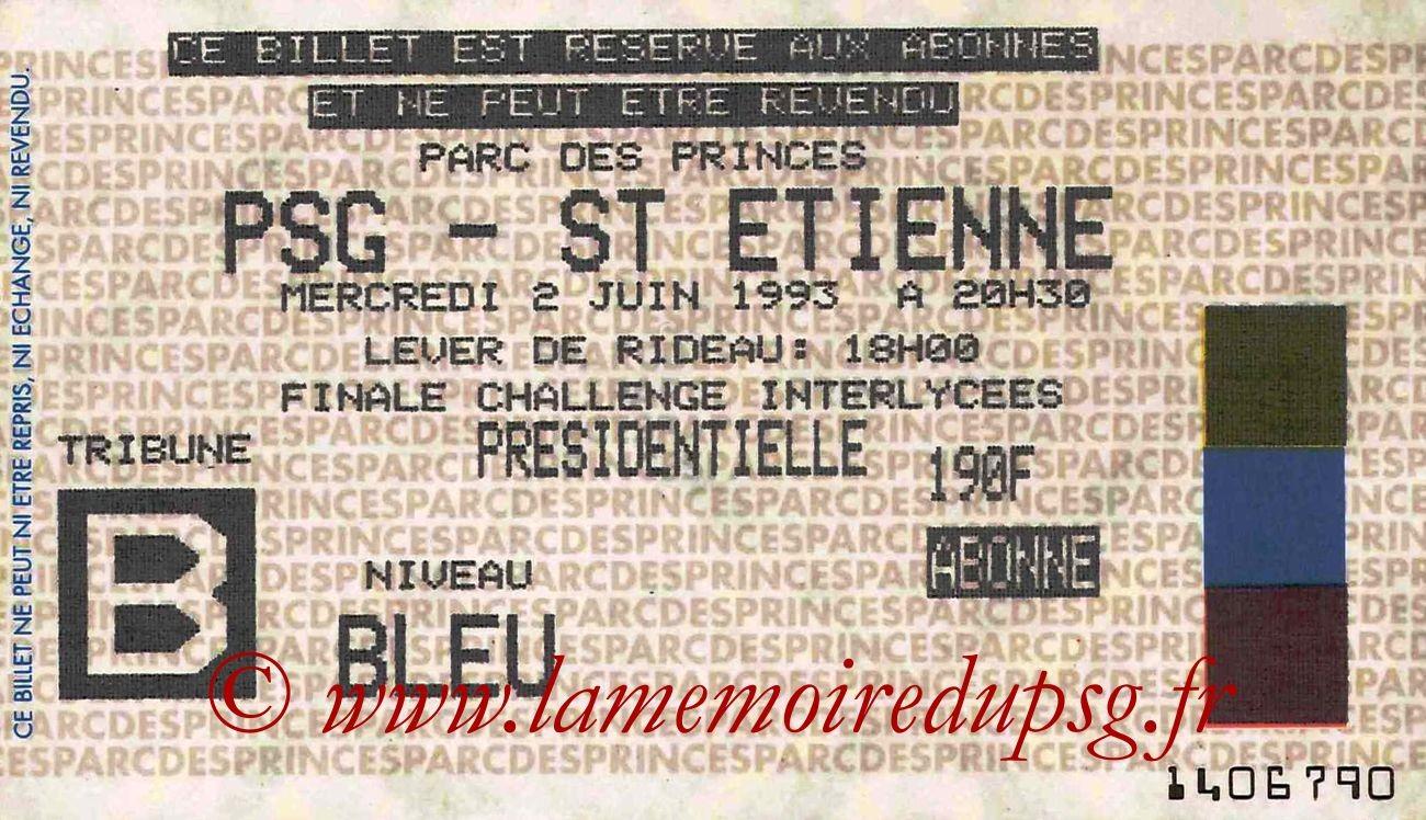 1993-06-02  PSG-Saint Etienne (38ème D1)