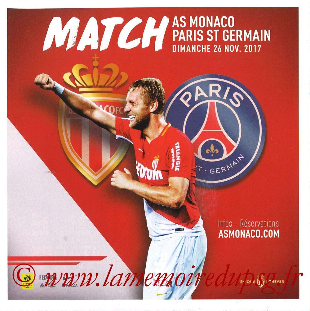 2017-11-26  Monaco-PSG (14ème L1, Match)