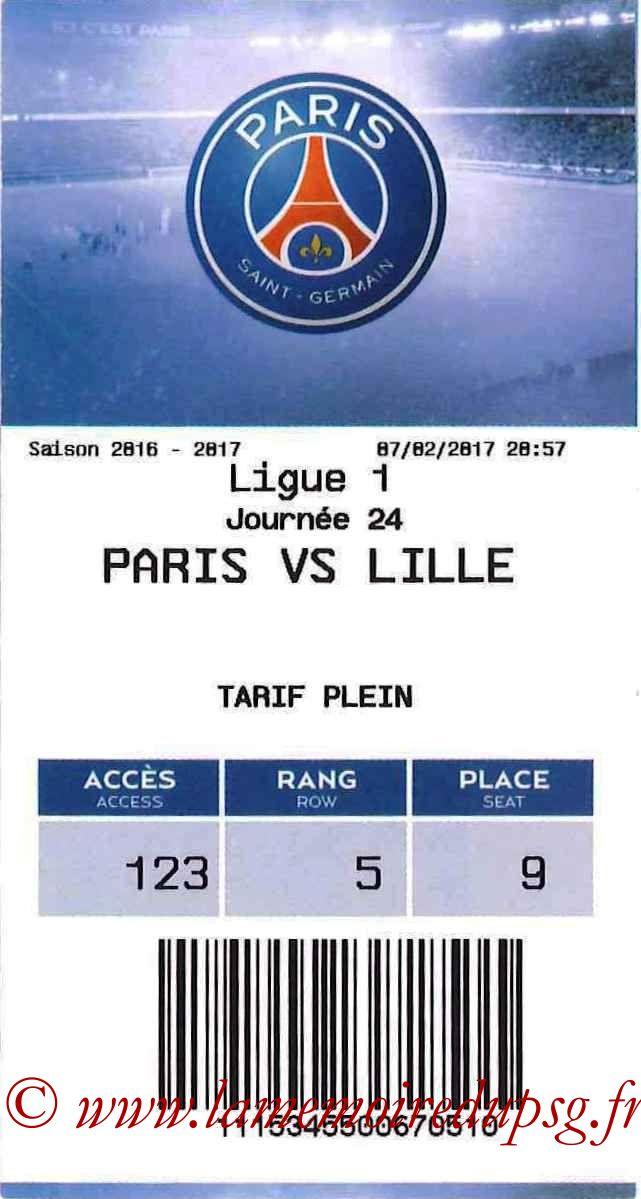 2017-02-07  PSG-Lille (24ème L1, E-ticket)