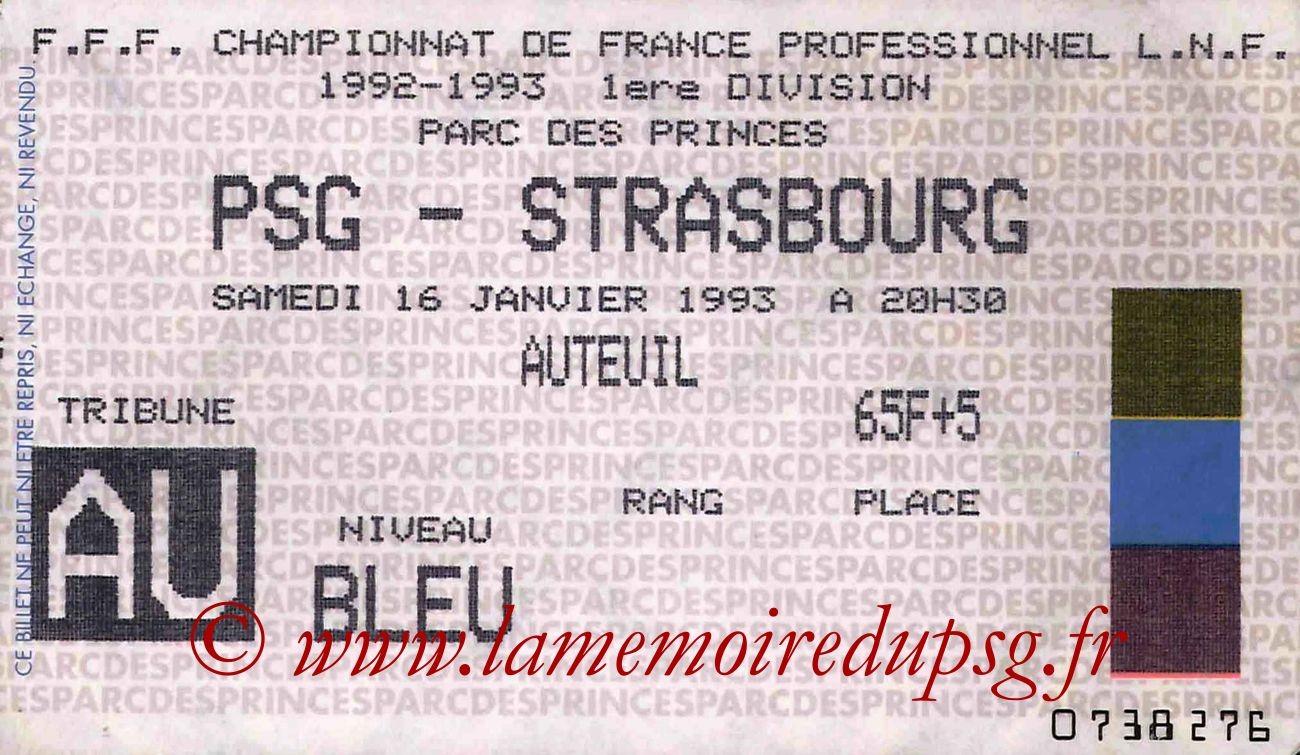 1993-01-16  PSG-Strasbourg (21ème D1)