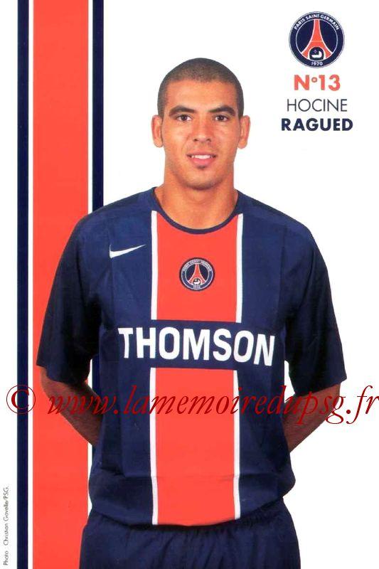 RAGUED Hocine  05-06