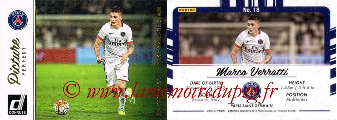 N° PP18 - Marco VERRATTI (Picture Perfect)
