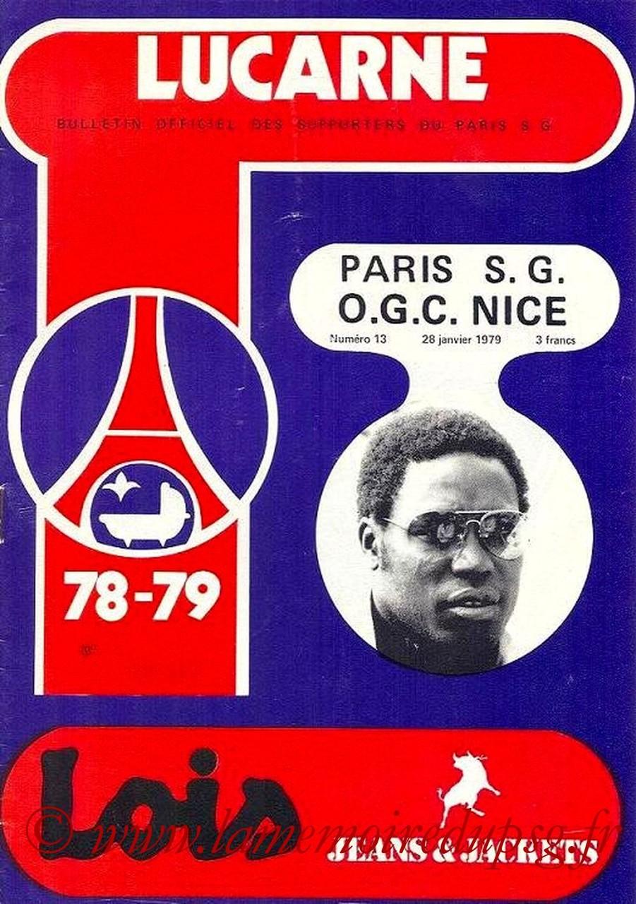 1979-01-28  PSG-Nice (25ème D1, Lucarne N°13)